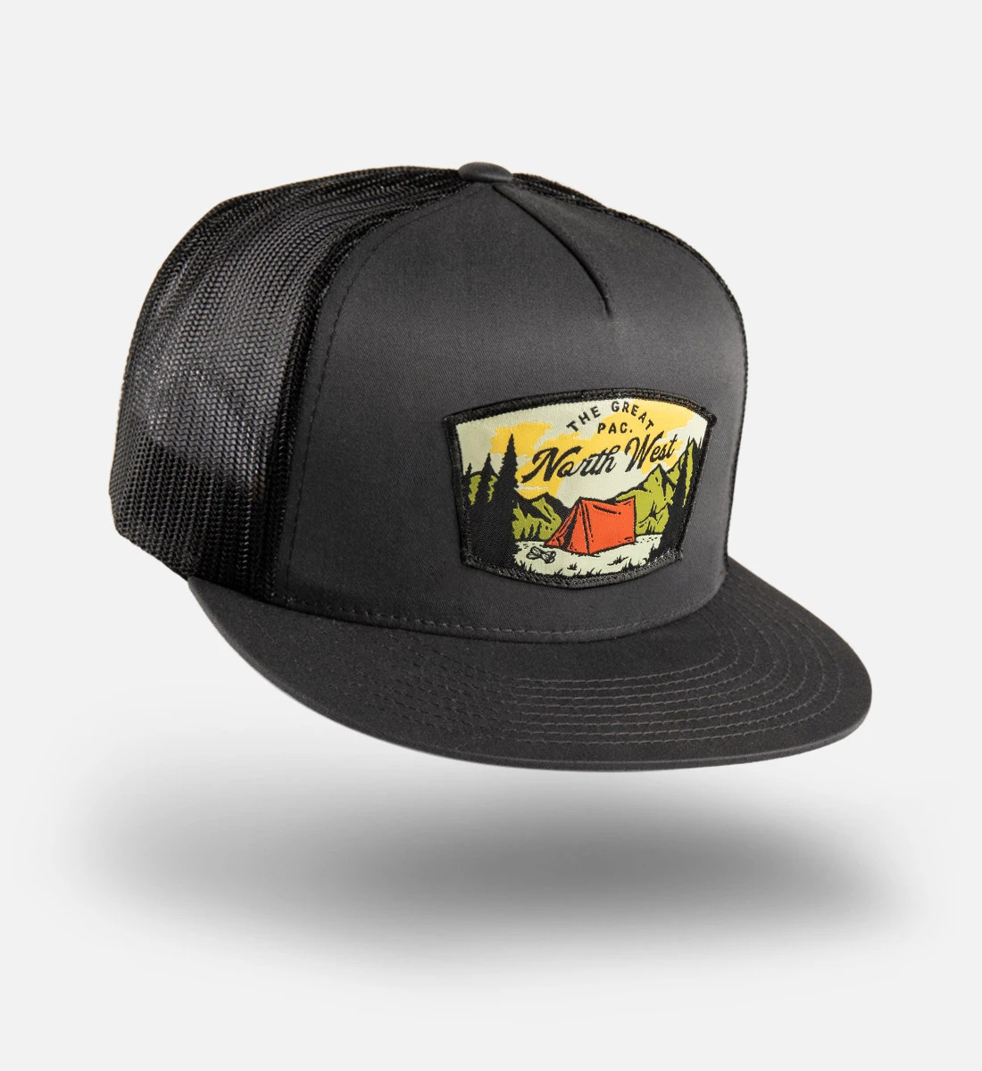 Custom Woven Patch Hat 2